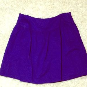 Gap Skirt In Purple